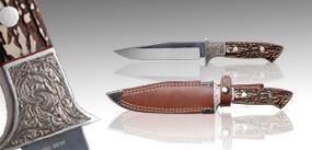 鹿角柄直刀#1-追擊刀