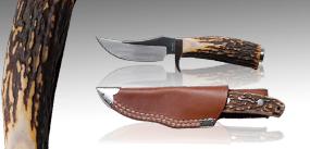 鹿角柄小直刀#10-野營刀
