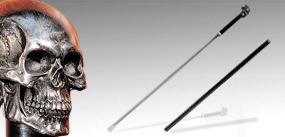 骷髏頭手杖劍