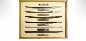 武士刀流程展示箱